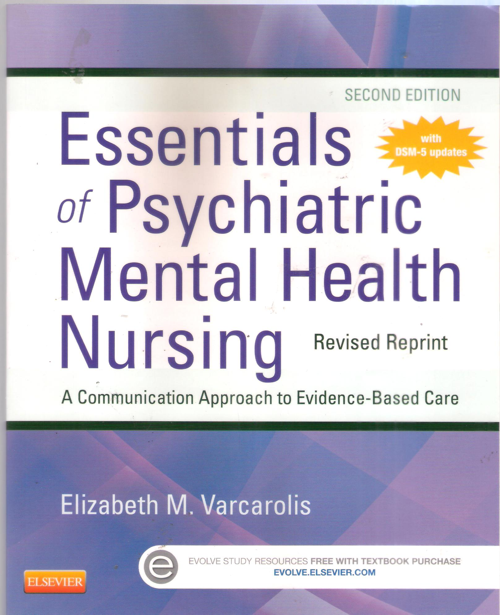 Essentials of Physiatric Mental Health Nursing