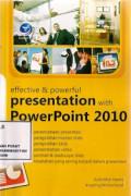 Effective & Powerful Presentation With Power Point 2010