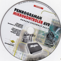 Image of CD: Pemrograman MikrokontrolerAVR Bahan Assembly dan C
