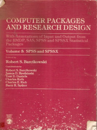 Image of Computer Packages And Research Design