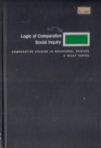 Image of Logic Of Comparative Social Inquiry